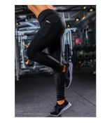Fitness legíny Black Pocket